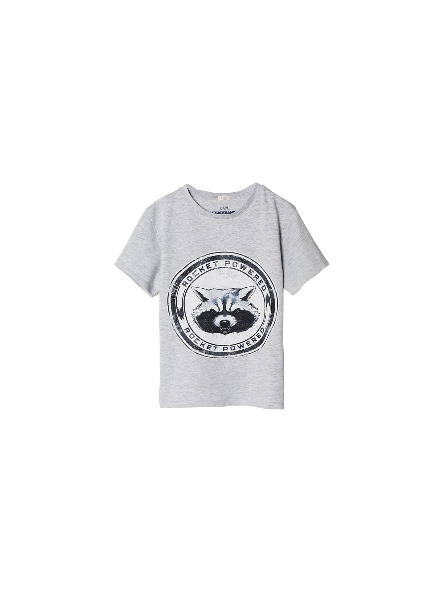 23956f992ad Mango Kids Boys' Marvel Guardians of the Galaxy Rocket T-Shirt ...