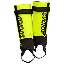 Buy Adidas Ace Club Shin Guards, Yellow/Black Online at johnlewis.com