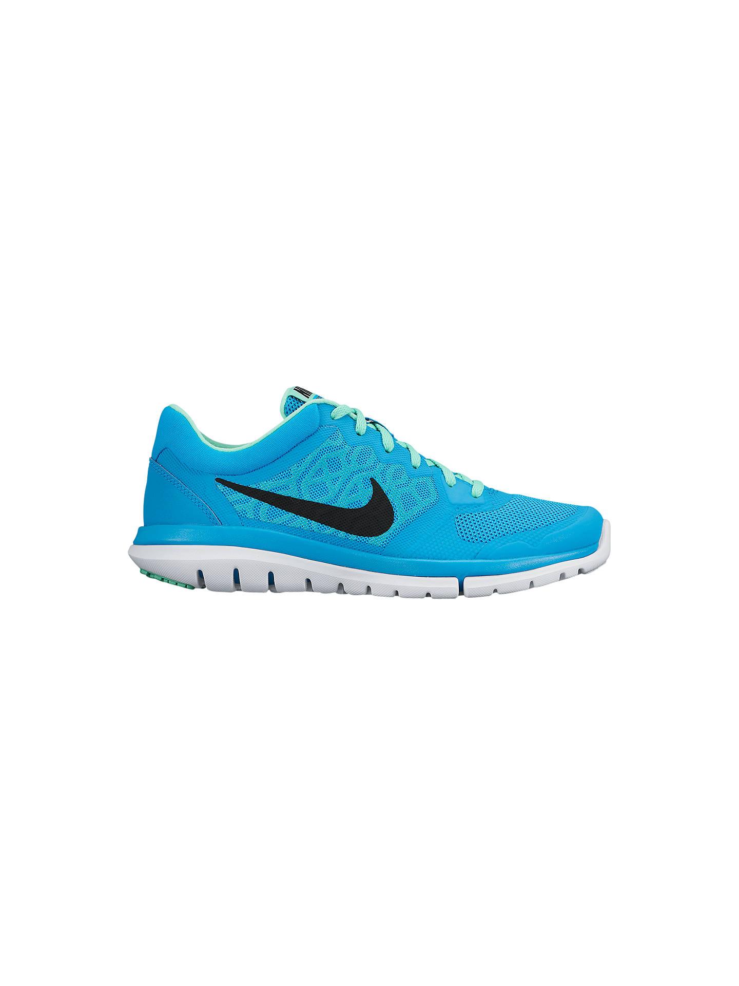 sale retailer 3c284 dd1d6 Buy Nike Flex Run 2015 Women s Running Shoes, Blue, 4 Online at johnlewis.