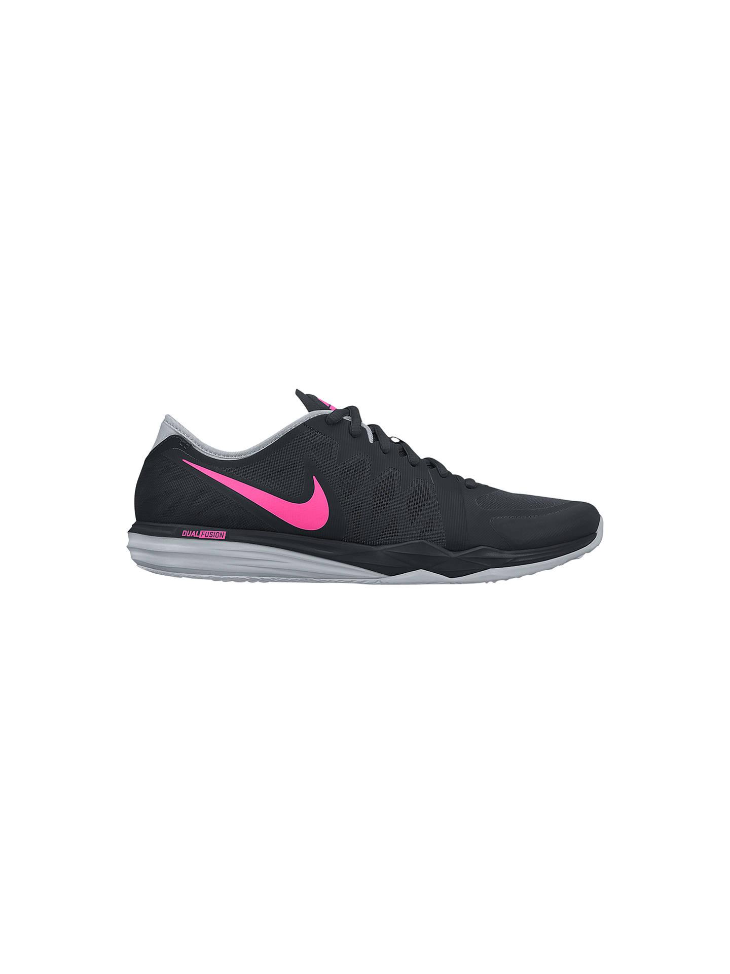wholesale dealer 4872c f27d8 Buy Nike Dual Fusion TR3 Women s Cross Trainers, Black Pink, 4 Online at ...