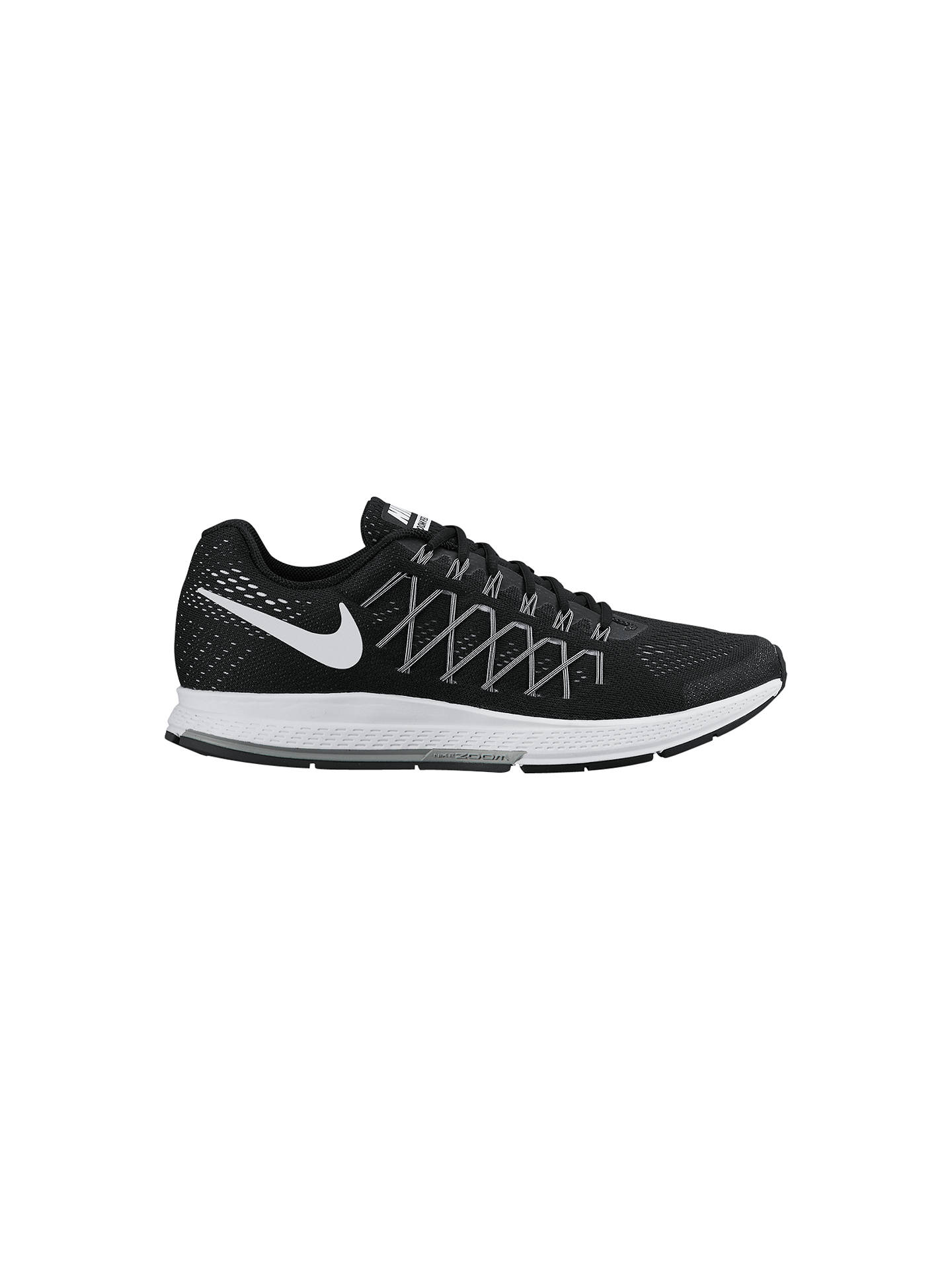 new concept 7ab66 a3288 Buy Nike Air Zoom Pegasus 32 Men's Running Shoes, Black/Dark Grey, 7 ...