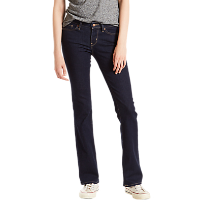 Levi's 715 Mid Rise Bootcut Jeans, Lone Wolf