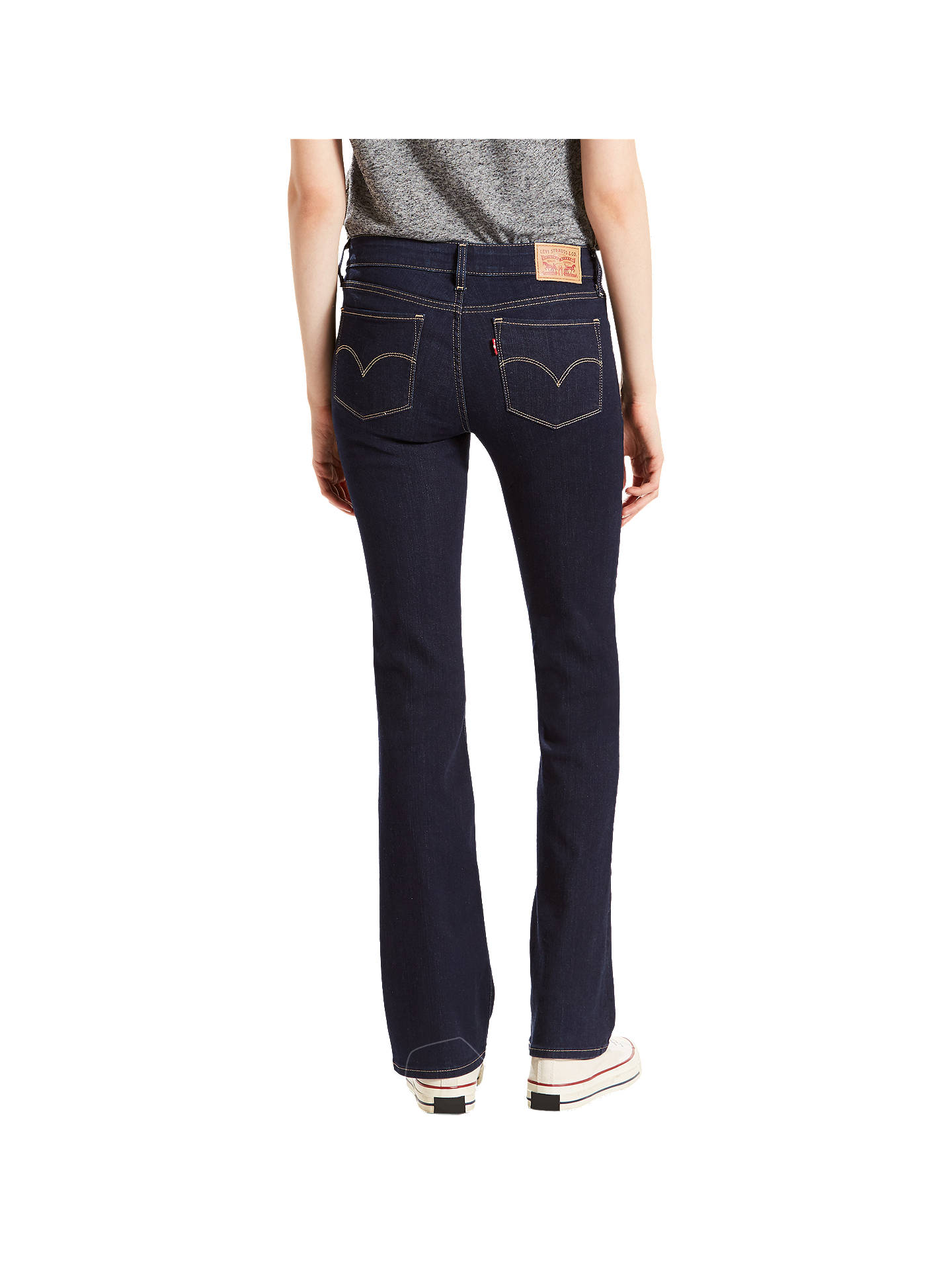 Buy Levi's 715 Mid Rise Bootcut Jeans, Lone Wolf, W30/L30 Online at johnlewis.com