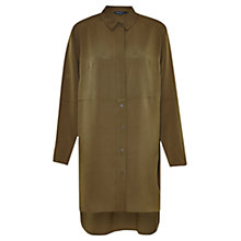 Buy French Connection Samantha Shirting Tunic, Turtle Online at johnlewis.com