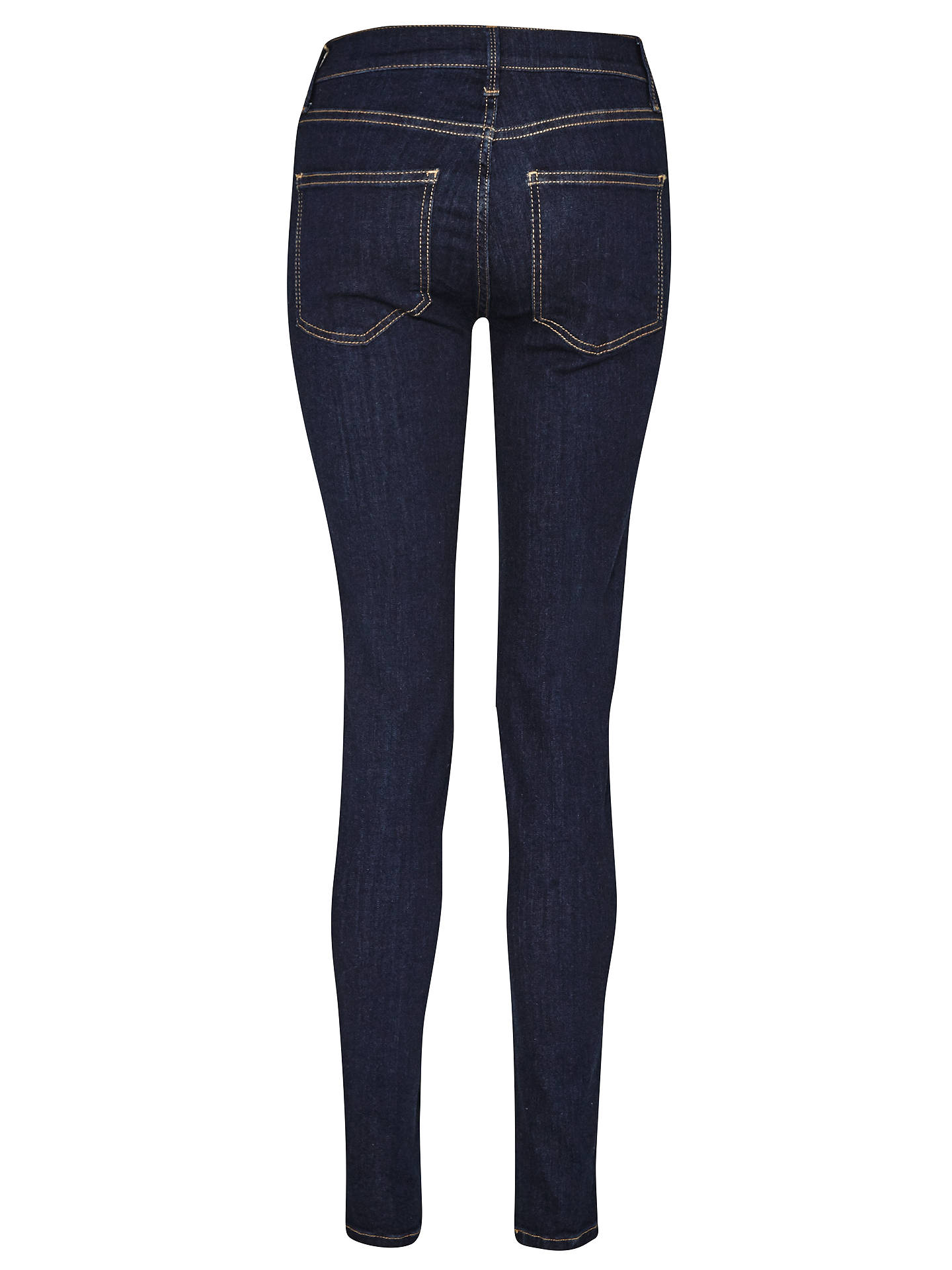 Buy French Connection Skinny Stretch Rebound Denim Jeans, Rinse, 6 Online at johnlewis.com