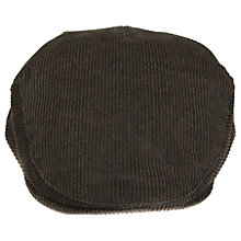 Buy Barbour Cord Flat Cap, Olive Online at johnlewis.com