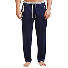 Buy Polo Ralph Lauren No.3 Jersey Lounge Pants, Navy/Blue Online at johnlewis.com