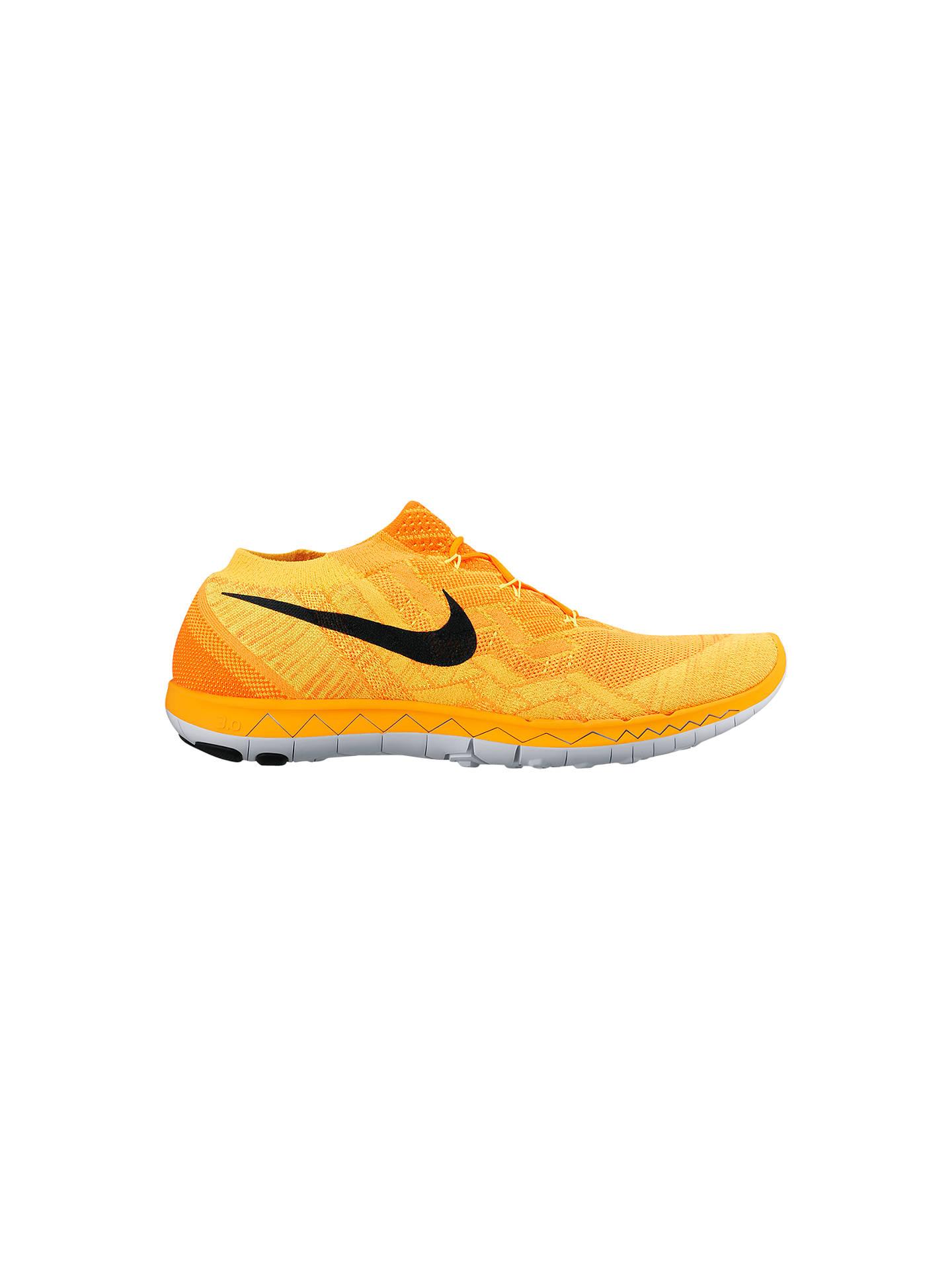 separation shoes e8e4f 8fa0e Buy Nike Free 3.0 Flyknit Men s Running Shoes, Orange Black, 6.5 Online at  ...