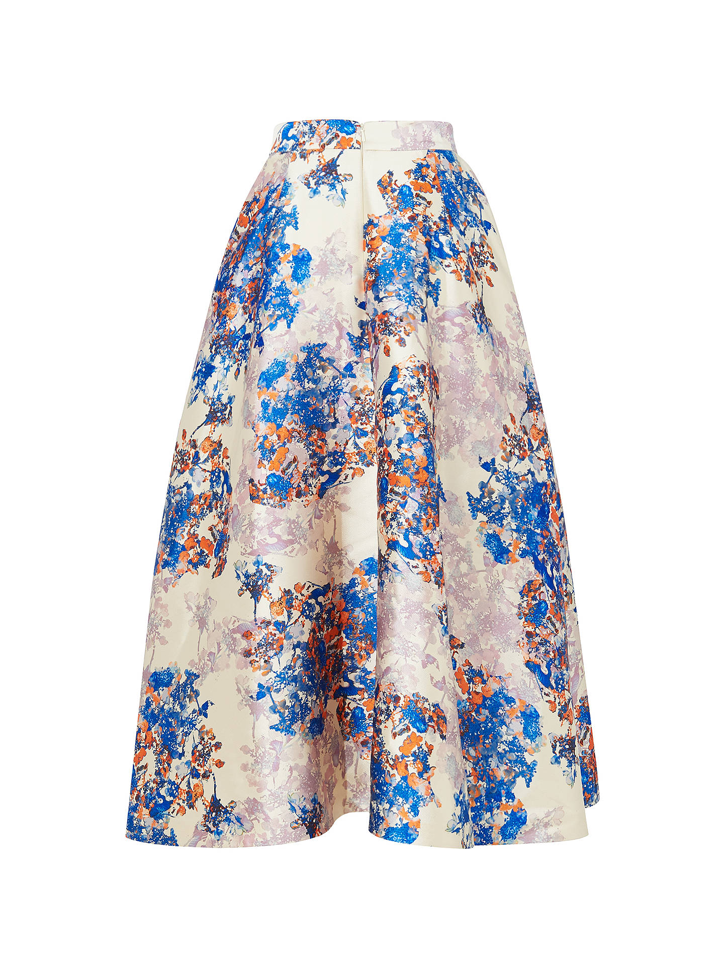 1ea3214545 ... Buy L.K. Bennett Kenton Emilia Print Skirt, Multi, 6 Online at  johnlewis.com ...