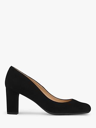 L.K.Bennett Sersha Block Heeled Court Shoes