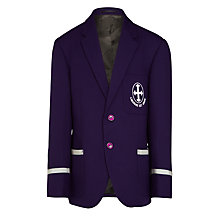 Buy St Hilda's CE High School Boys' Blazer, Purple Online at johnlewis.com