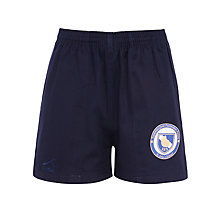 Buy St John's International School Boys' Rugby Shorts, Navy Online at johnlewis.com