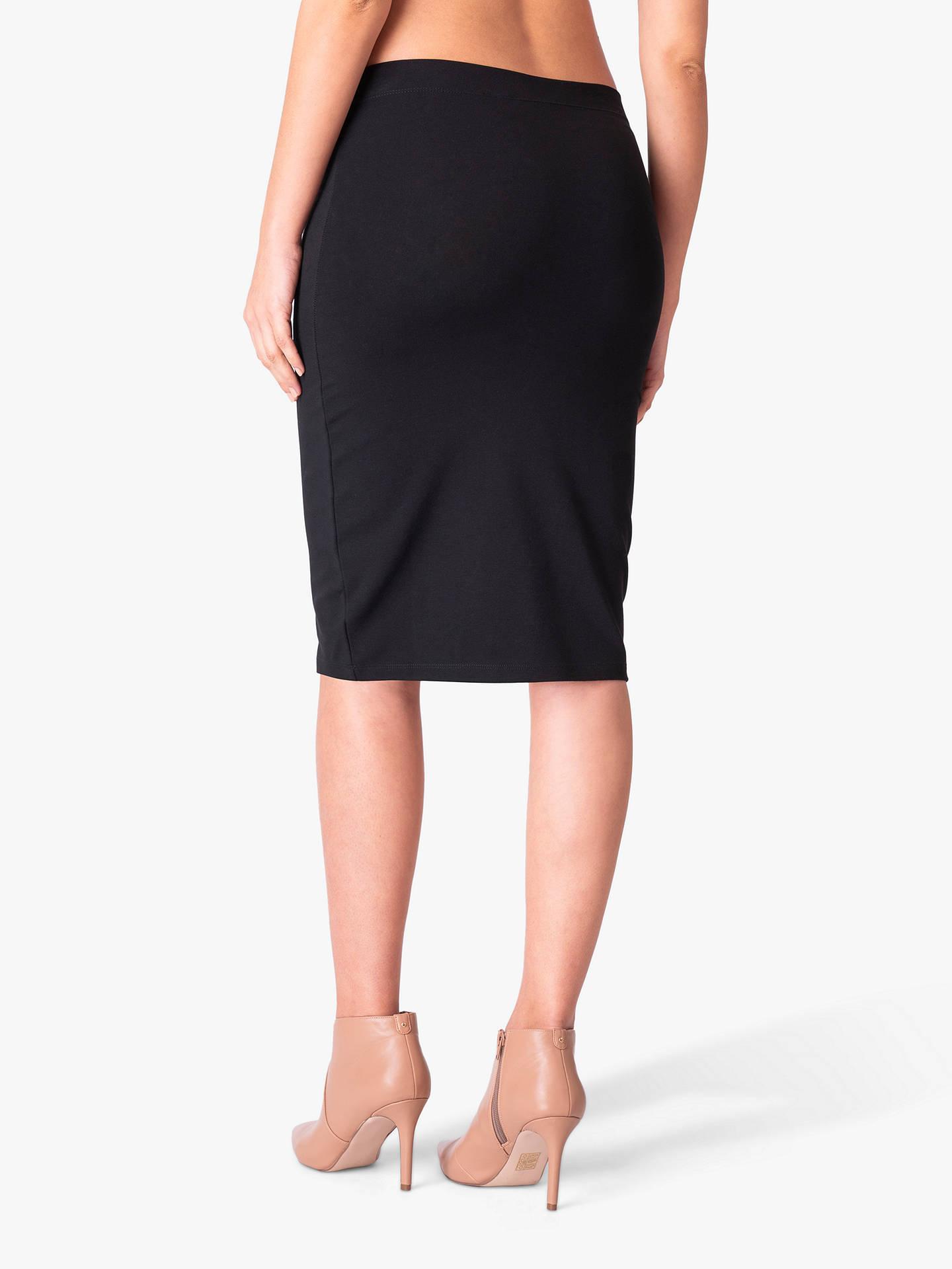 28aab56eda241 Buy Séraphine Cathy Bodycon Maternity Pencil Skirt, Black, S Online at  johnlewis.com ...