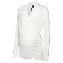 Buy Séraphine Melanie Maternity Nursing Top, Cream Online at johnlewis.com