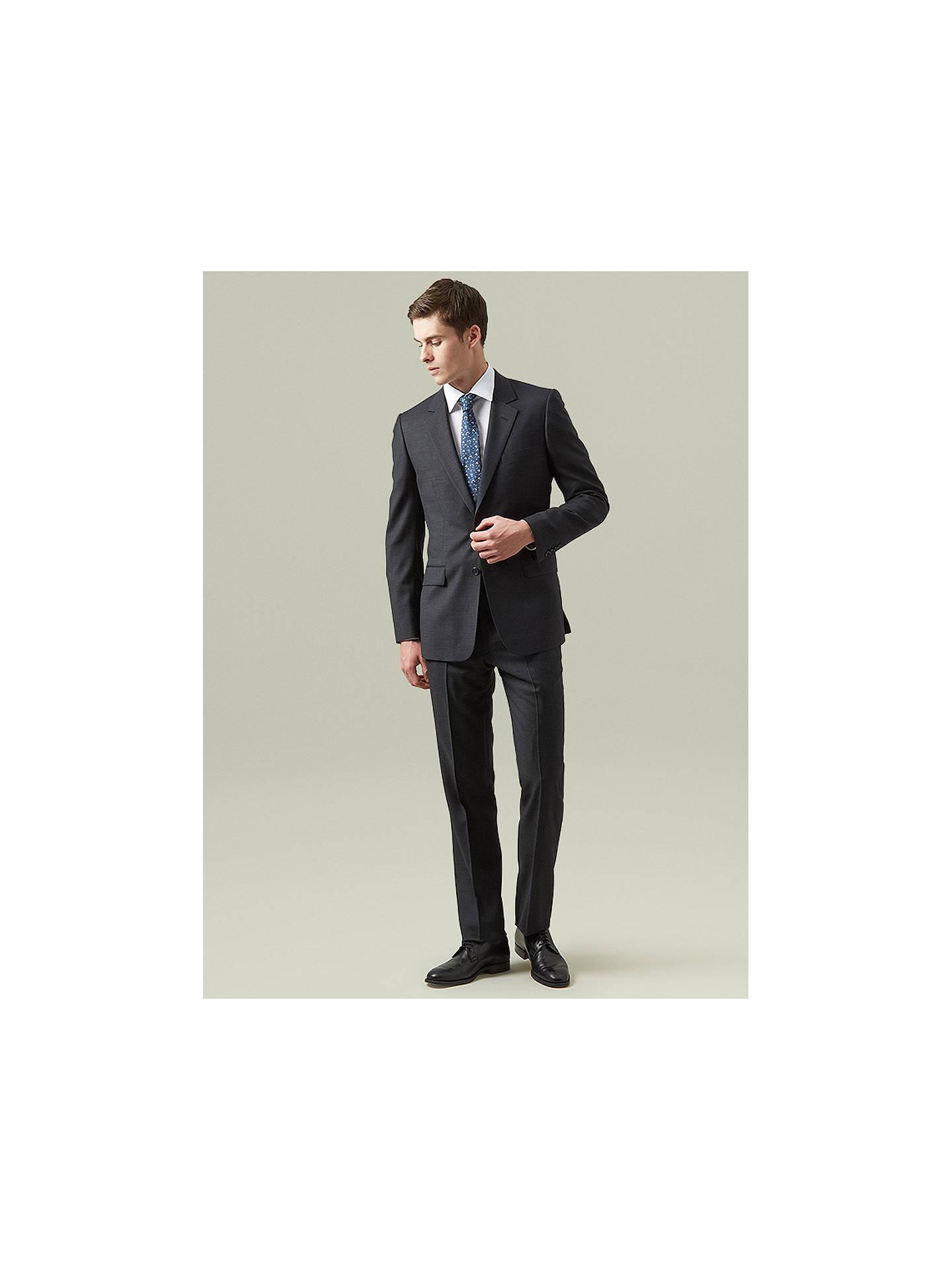 8f1480e2206e ... Buy Aquascutum Pick & Pick Wool Suit Trousers, Dark Grey, 32R Online at  johnlewis