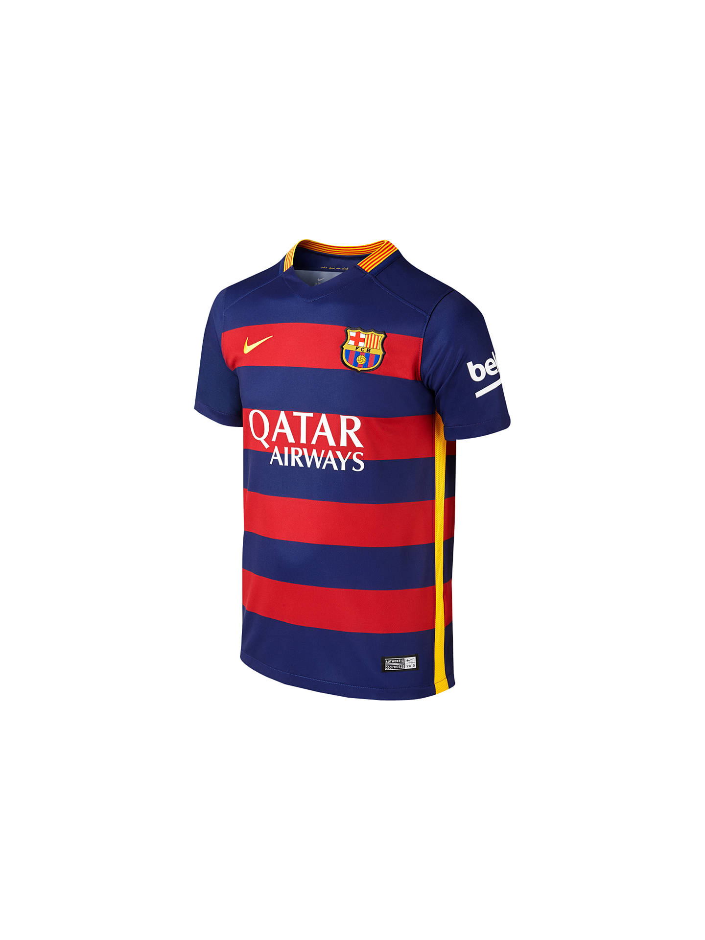BuyNike 2015 16 FC Barcelona Home Kids  Football Shirt 4a0c8bd3ee9