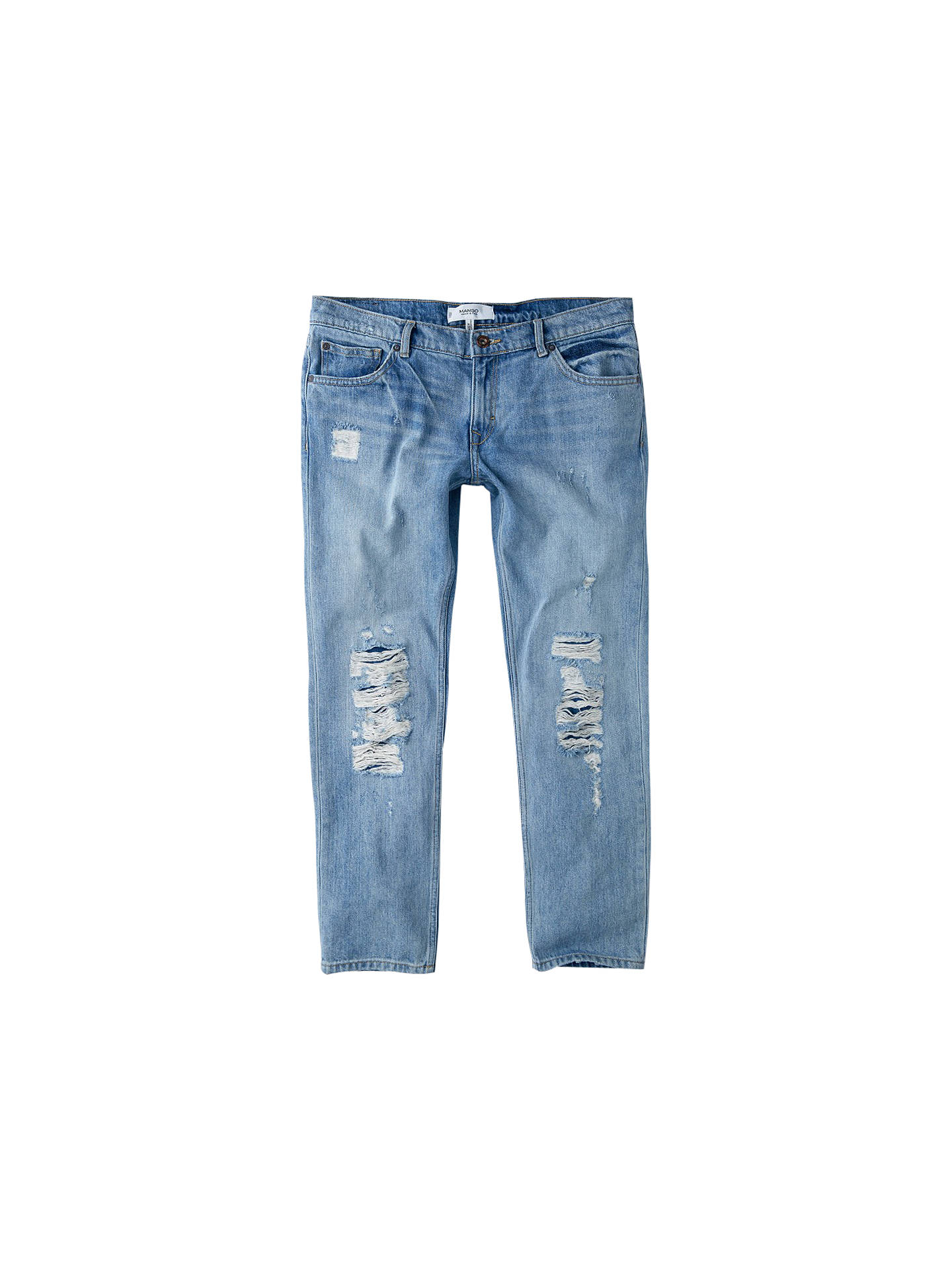 35f79716dc Mango Slim-Fit Cropped Nancy Jeans at John Lewis   Partners