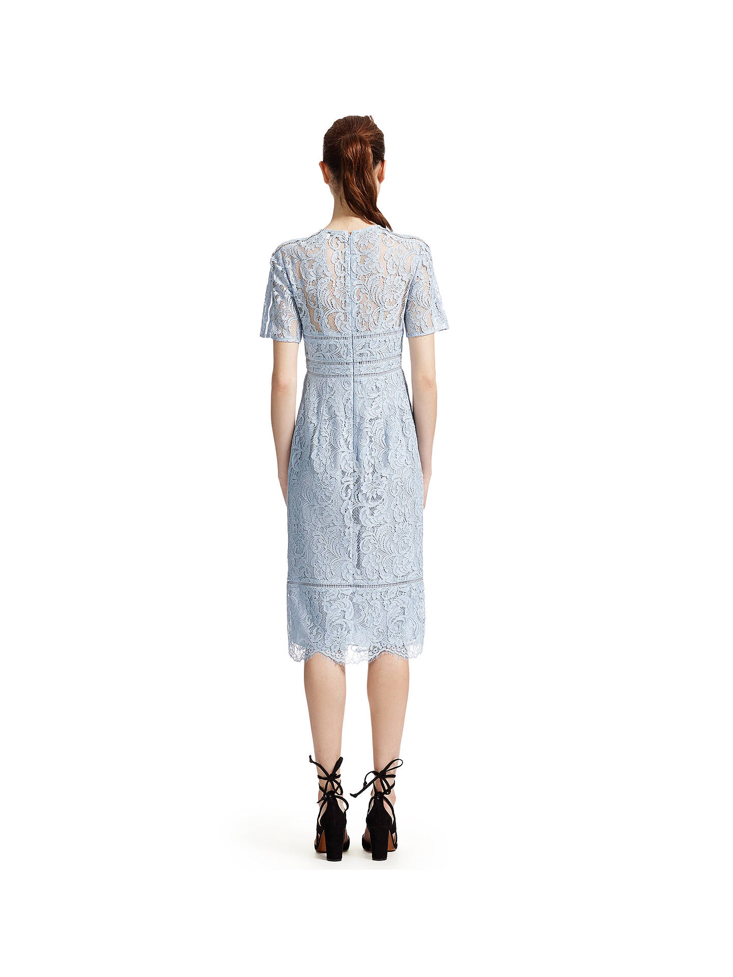 e396fda8645213 ... Buy Whistles Lily Lace Shift Dress, Pale Blue, 6 Online at johnlewis.com