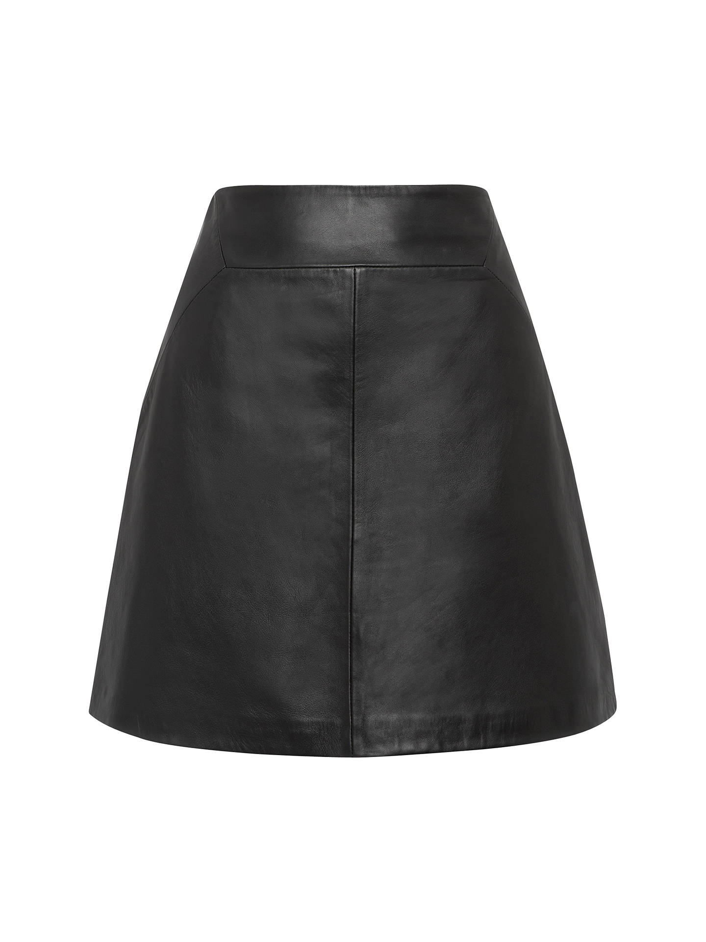 d1f6dfa57b5 Buy Whistles Leather A-Line Skirt