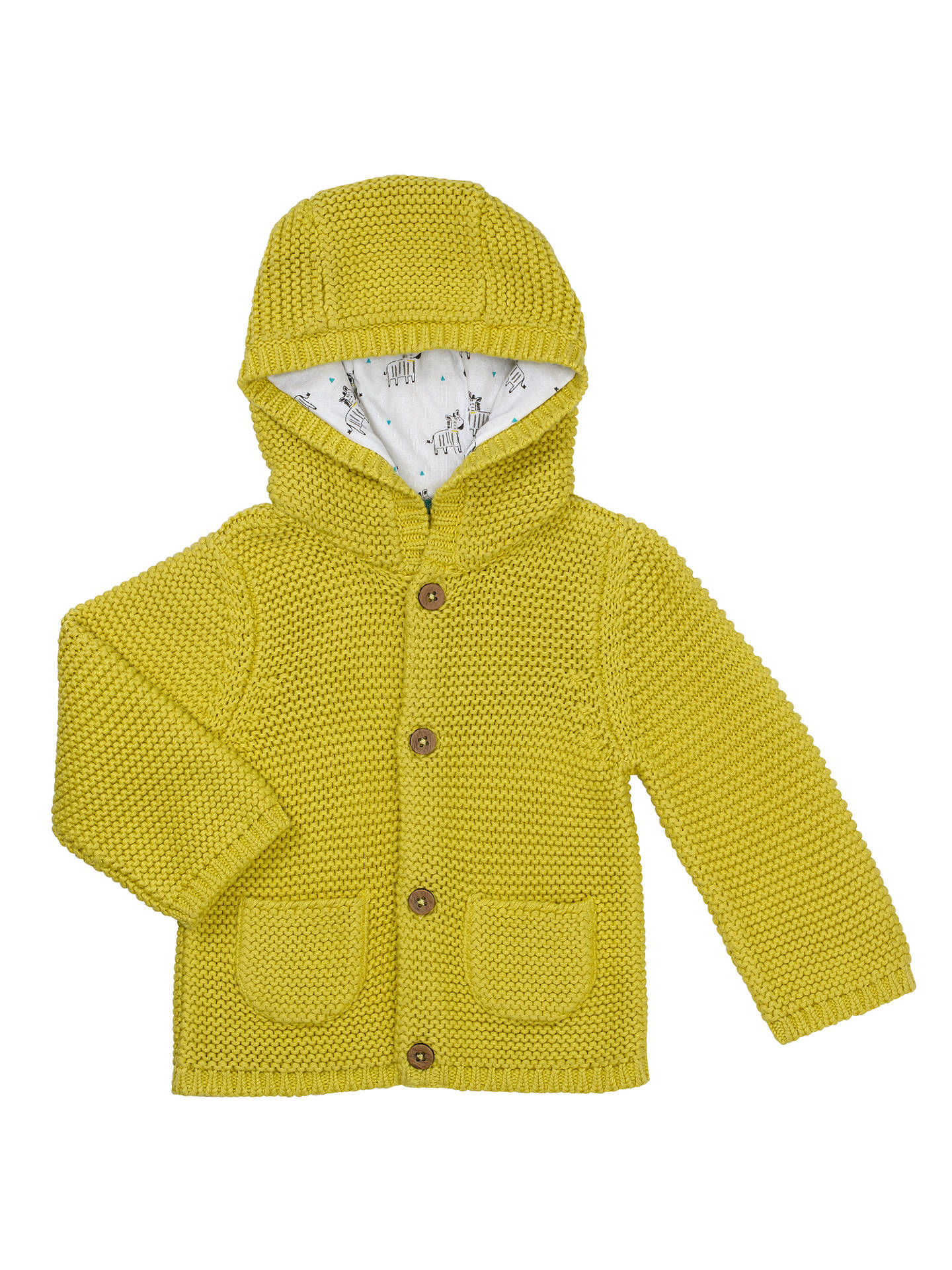 4aae4a4bbc0a John Lewis Baby Hooded Cardigan