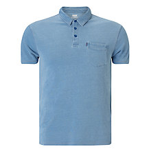 Buy Levi's Sunset Polo Shirt, Washed Blue Indigo Online at johnlewis.com