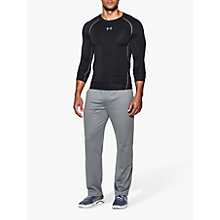 Buy Under Armour HeatGear Long Sleeve Compression Top, Black Online at johnlewis.com
