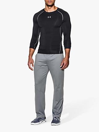 Under Armour HeatGear Long Sleeve Compression Top, Black