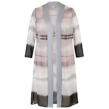 Buy Chesca Mink Satin Trim Coat Online at johnlewis.com