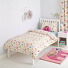 Buy little home at John Lewis Abbey Repeat Duvet Cover and Pillowcase Set Online at johnlewis.com