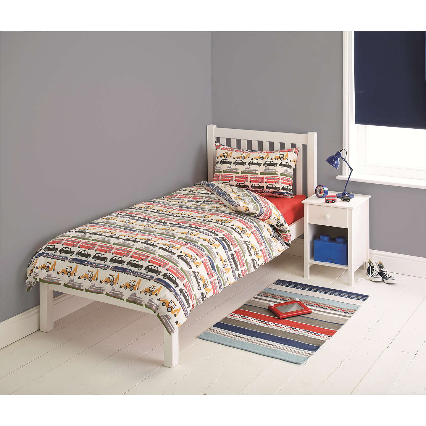 Little Home At John Lewis On The Move Duvet Cover And Pillowcase Set Single Online