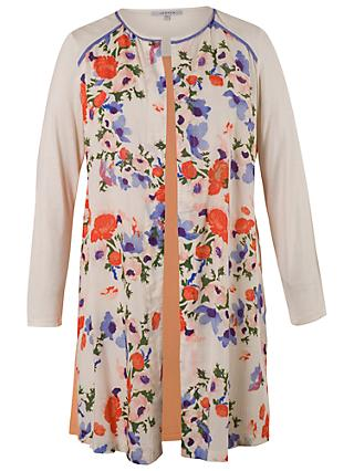 Chesca Floral Jacket, Cream