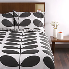 Buy Orla Kiely Giant Stem Flannelette Bedding Online at johnlewis.com