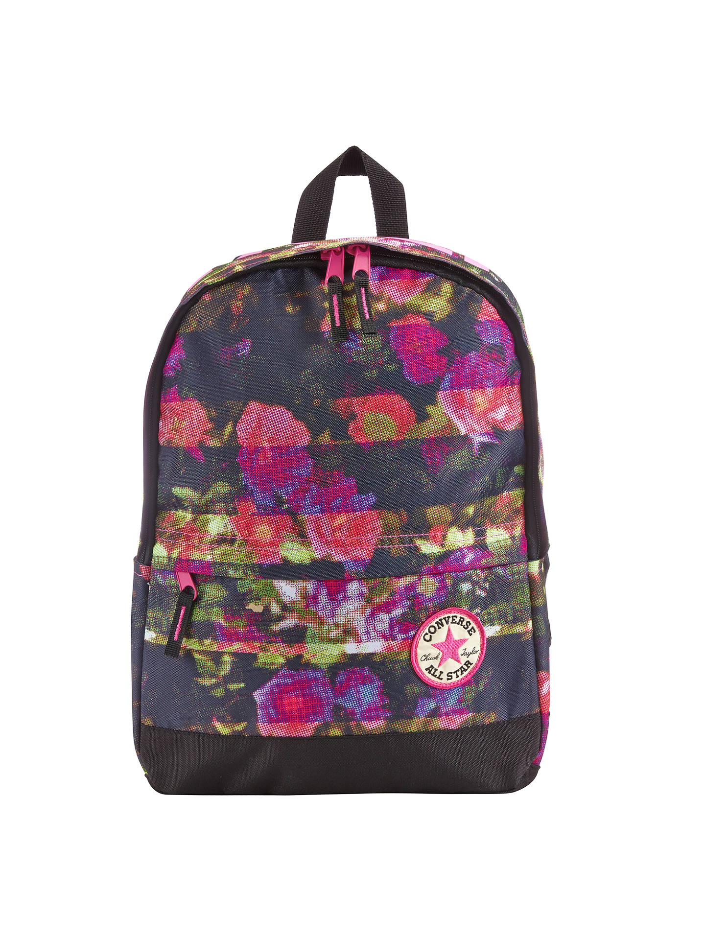 8f1cab2405a Buy Converse Children's Floral All Star Backpack, Pink Online at johnlewis.  ...