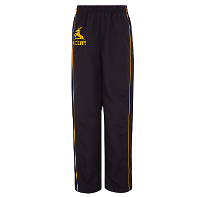 Colfe's School Girls' Tracksuit Bottoms, Navy Blue