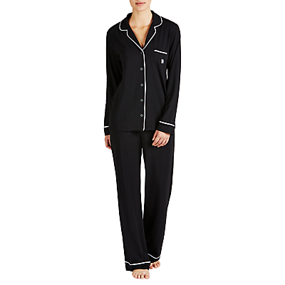DKNY Urban Essentials Signature Pyjama Set, Black