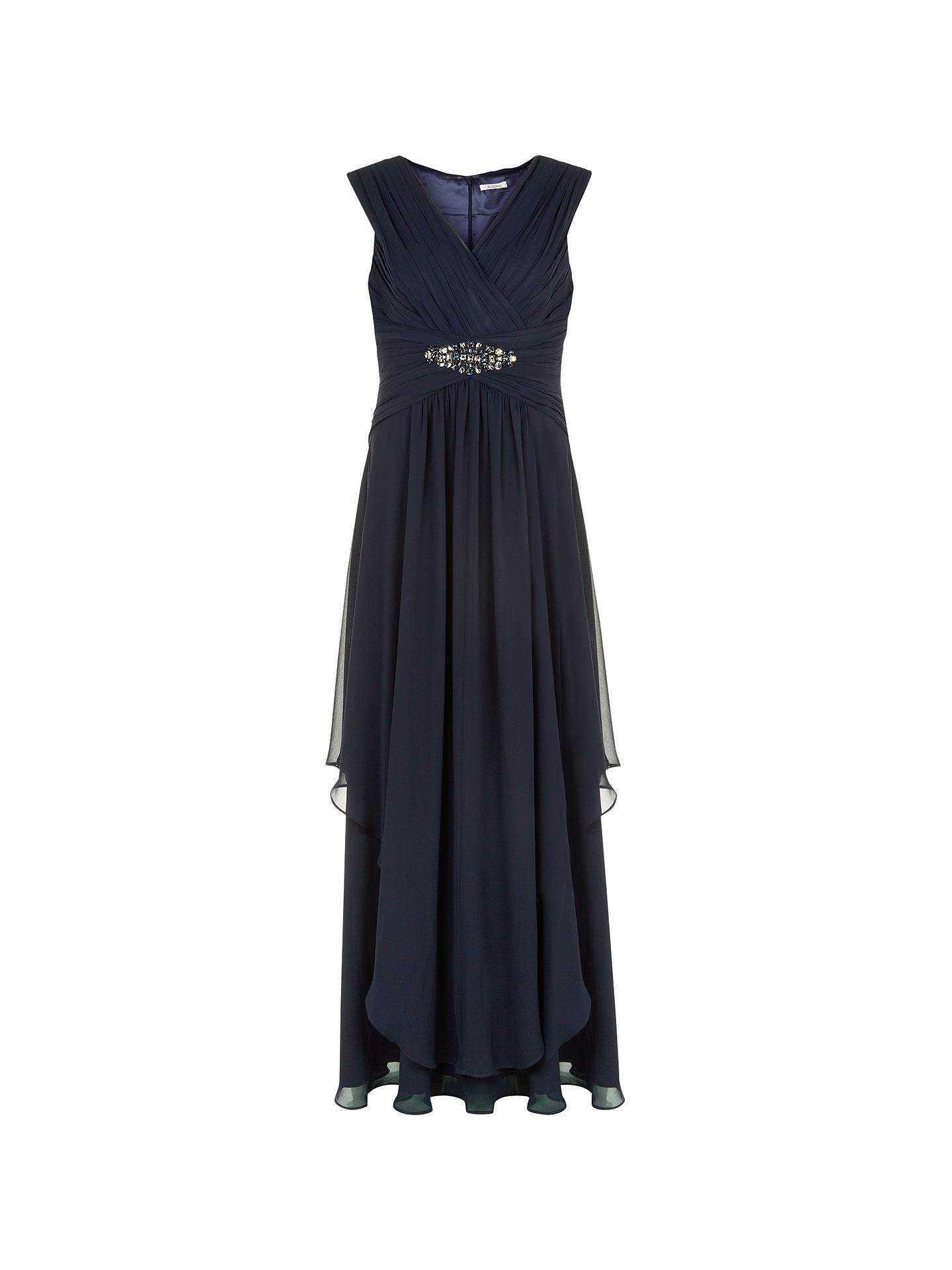 official site sale online lower price with Kaliko Embellished Maxi Dress, Navy at John Lewis & Partners