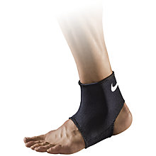 Buy Nike Pro Combat Ankle Sleeve 2.0, Black/White Online at johnlewis.com