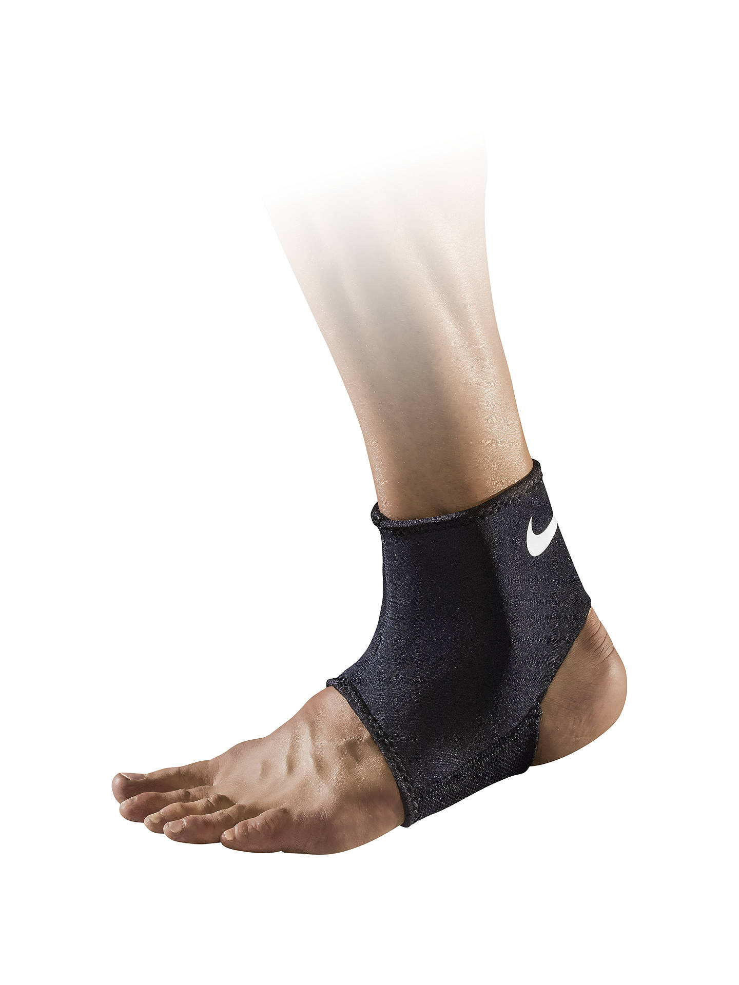 innovative design 3da00 25528 BuyNike Pro Combat Ankle Sleeve 2.0, BlackWhite, S Online at johnlewis.