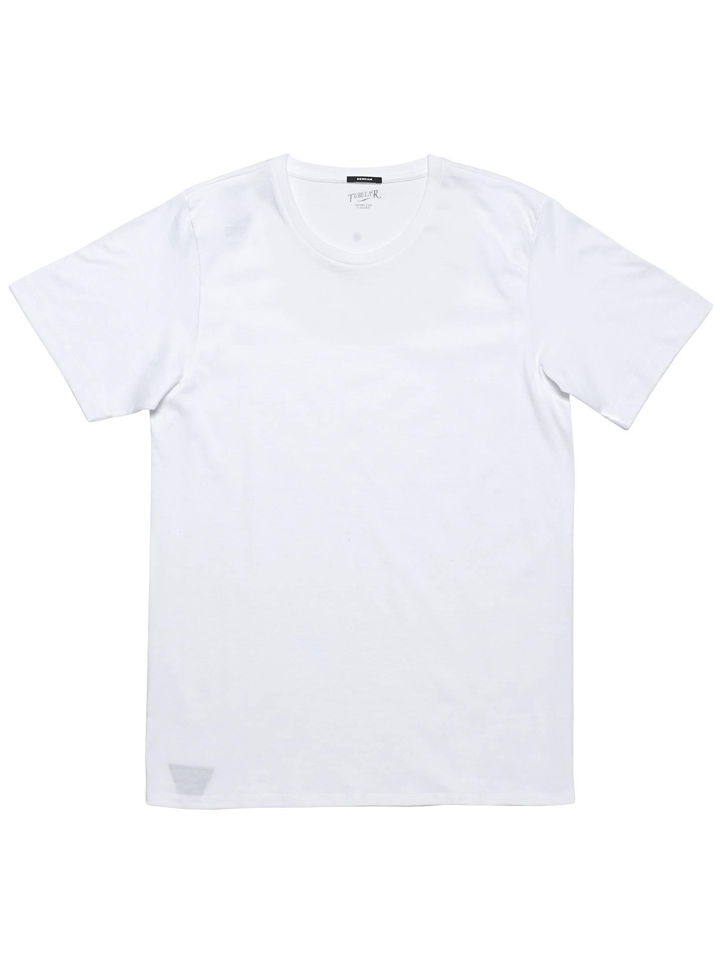 85ebc4c01ef6 Denham Tubular Crew Short Sleeve T-Shirt at John Lewis   Partners