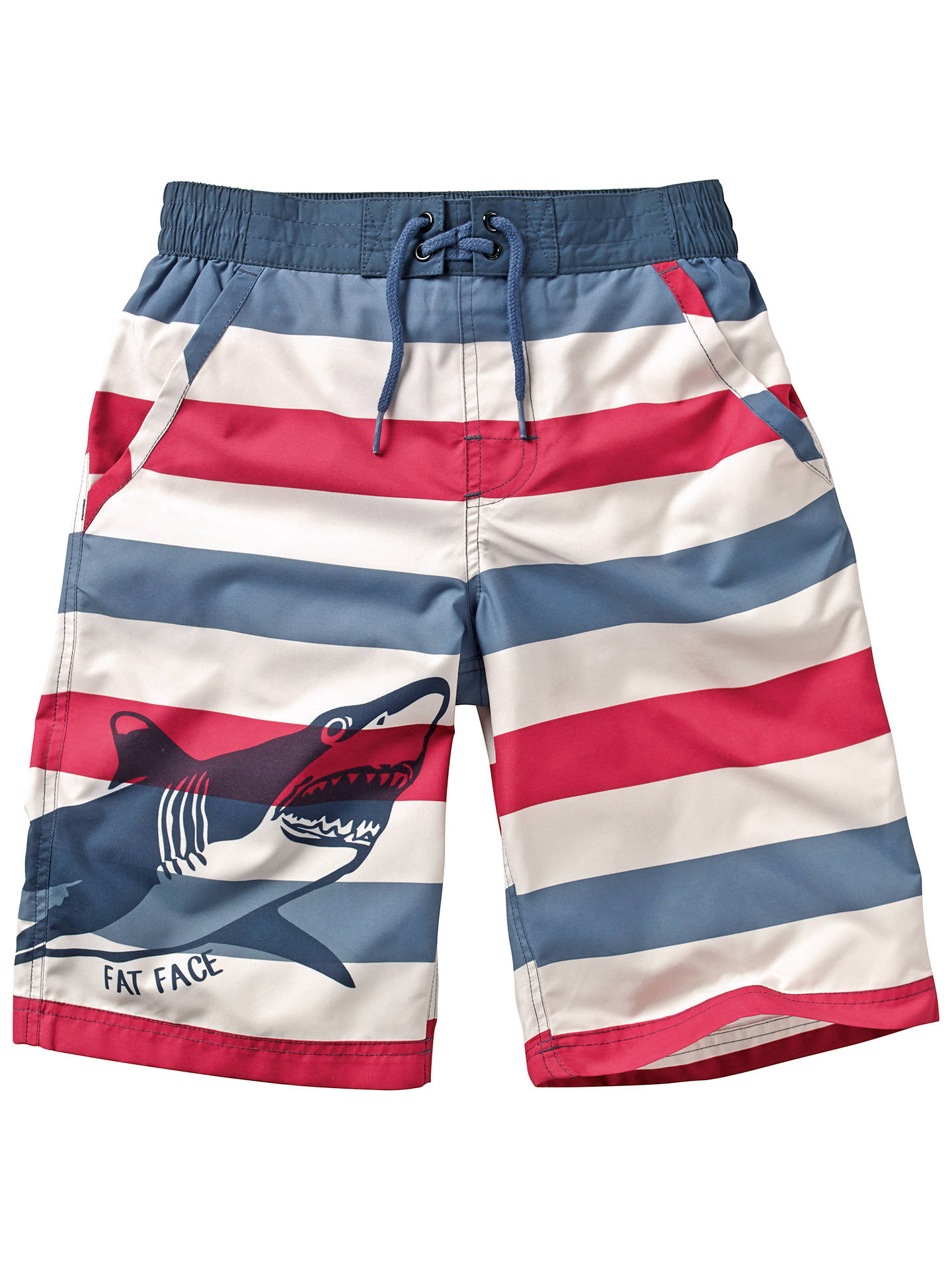 dc50f1e4aacf7 BuyFat Face Boys  Stripe Shark Board Shorts