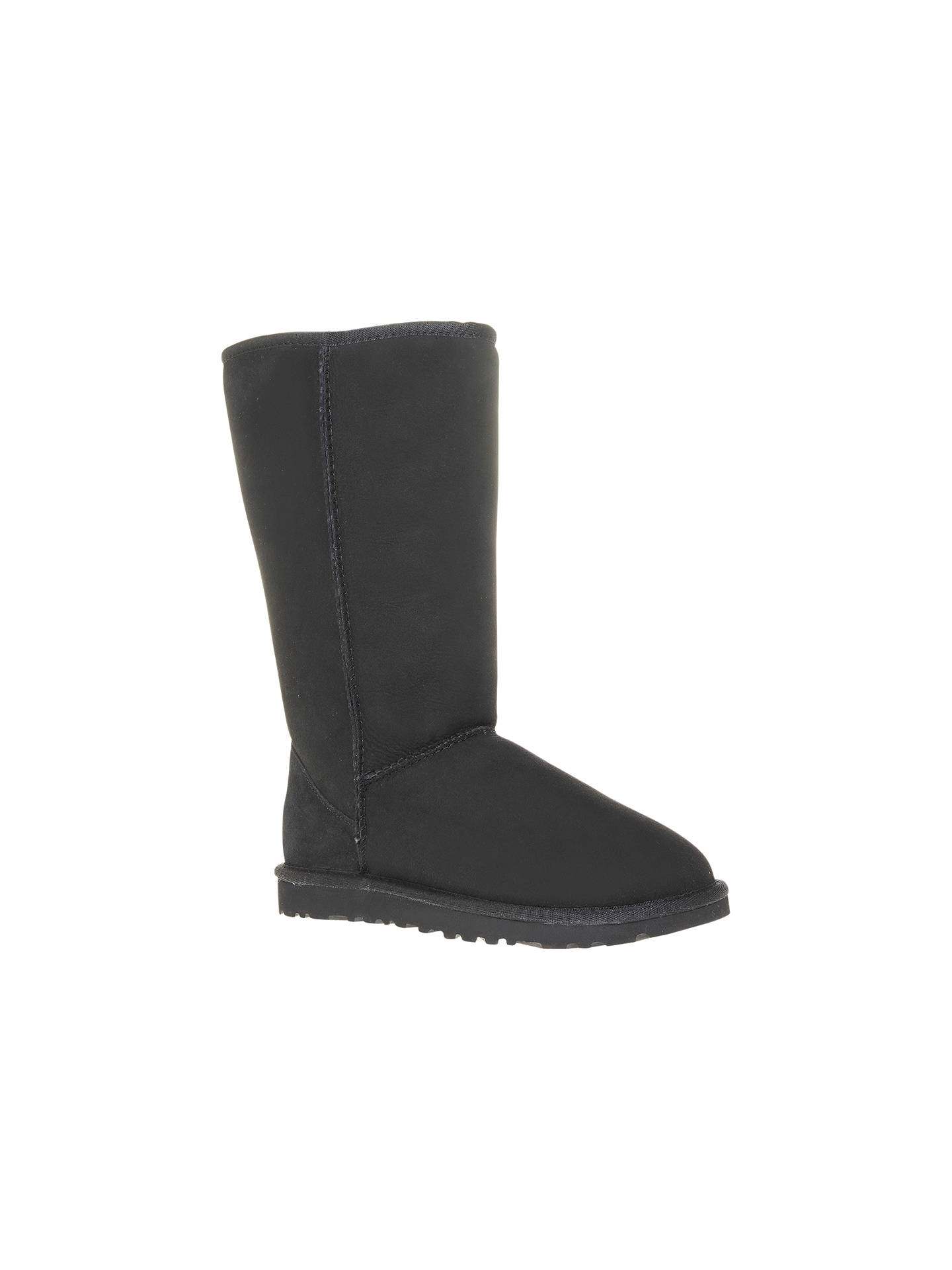 68d8614f1eb UGG Classic Tall Boots | Black at John Lewis & Partners