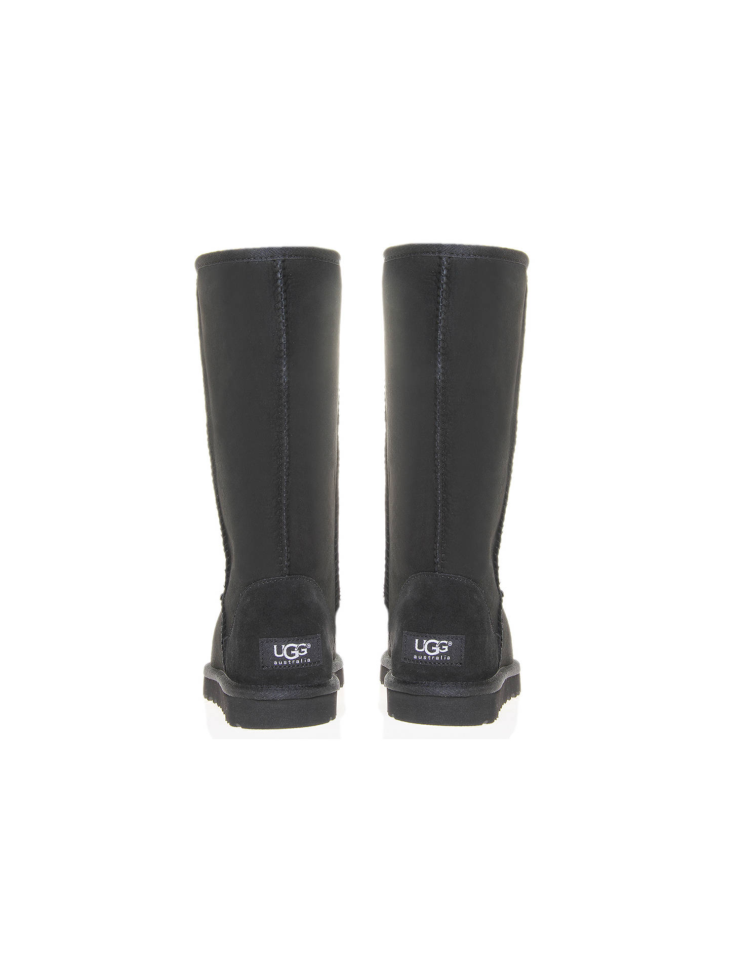 247a8c6c31f UGG Classic Tall Boots | Black at John Lewis & Partners