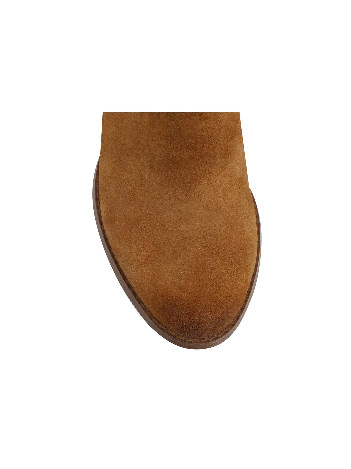 Buy Miss KG Sassy Suede Tassel Ankle Boots, Tan, 3 Online at johnlewis.com