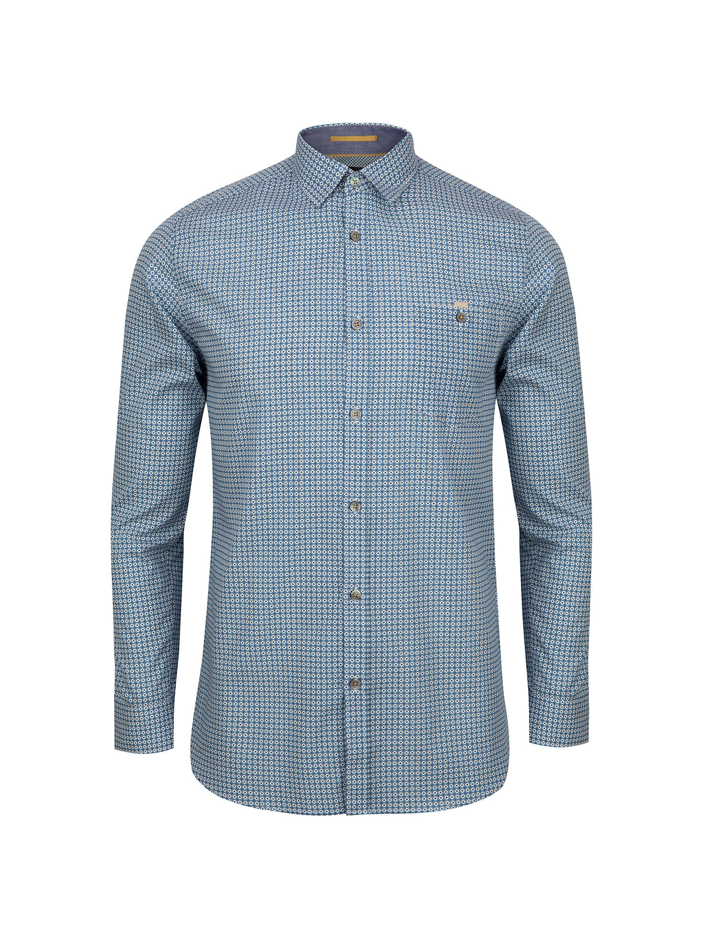 079f0a74608c Ted Baker Thewolf Micro Tile Print Shirt at John Lewis   Partners