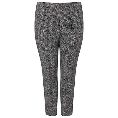 Studio 8 Alexa Jacquard Trousers, Black/White