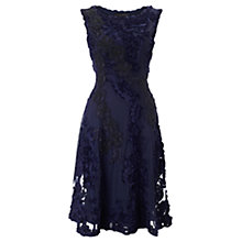 Buy Phase Eight Collection 8 Callula Tapework Dress, Navy Online at johnlewis.com