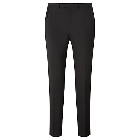 Buy Kin by John Lewis Enno Slim Fit Stretch Plainweave Suit Trousers, Black Online at johnlewis.com