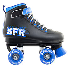 Buy SFR Children's Vision 2 Roller Skates, Black/Blue Online at johnlewis.com