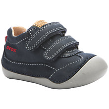 Buy Geox B Tutim Shoes, Dark Navy Online at johnlewis.com