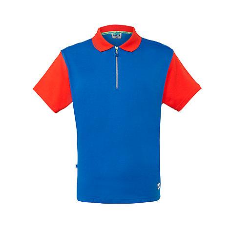 buy girl guide polo shirt red royal blue john lewis